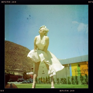 Marilyn statue Palm Springs