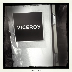 entrance to Viceroy Palm Springs