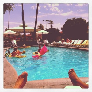 Viceroy Palm Springs pool