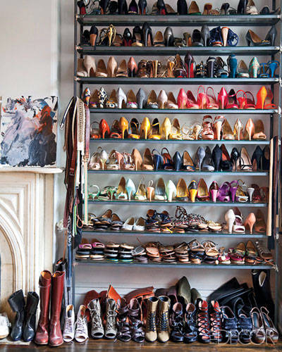 shoe closet-j crew