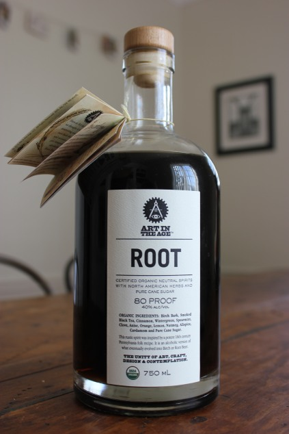 Root Liquor bottle Art In The Age