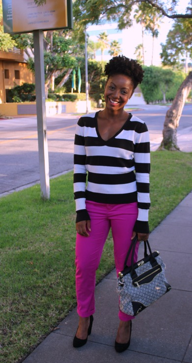 bold stripes and color outfit post blog redvelvetandwhiskey GAP Old Navy