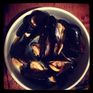 Mussels with paprika Ferran Adria Family Meal cookbook