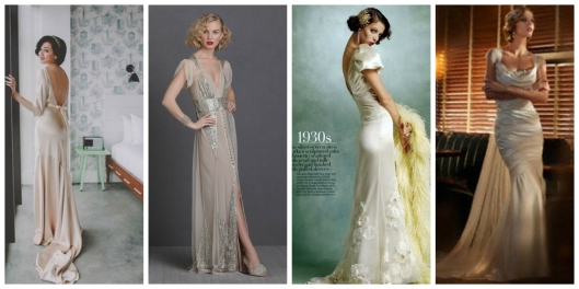 Hollywood Vintage Glamour  wedding dresses
