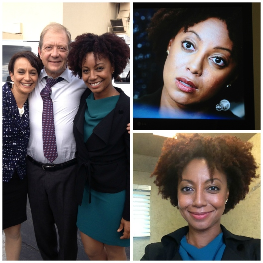 {pictures from Scandal set}
