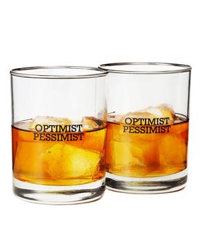 Pessimist Optimist glasses