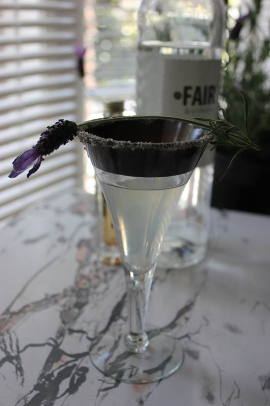 Vegan Lavender Martini picture