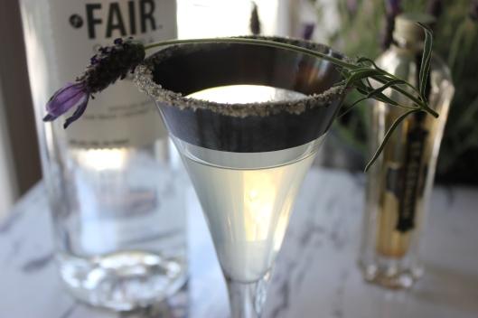 Vegan Lavender Martini pic