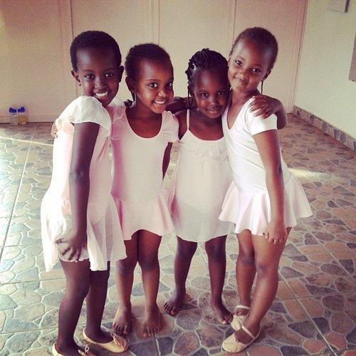 Tiny Rwandan Ballerinas
