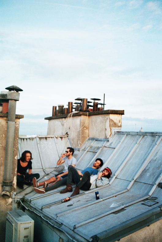 Paris rooftop pic